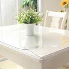 Скатерть «Гибкое стекло», 100 х 160 см, толщина 1 мм