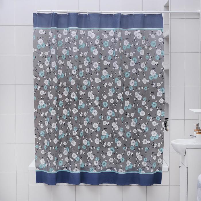 """Штора для ванной 180×180 см """"Нил"""", EVA"""