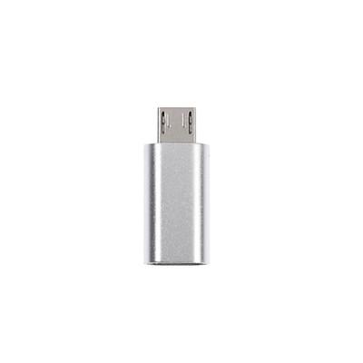 Переходник LuazON, с Lightning на micro USB, 1 шт, белый