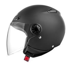 Шлем открытый ZS-210B, матовый, чёрный, M Ош