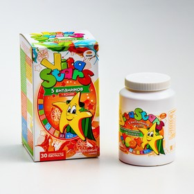 """Мультивитаминный комплекс """"ВитаСтарс"""" 5 витаминов с холином со вкусом """"цитрусовый микс"""" 3 г   470600"""
