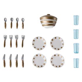 Игровой набор для кукольного домика Смоланд «Столовая посуда»