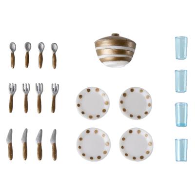 Игровой набор для кукольного домика Смоланд «Столовая посуда» - Фото 1