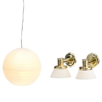 Освещение для домика «Люстра с абажуром» из рисовой бумаги - Фото 1