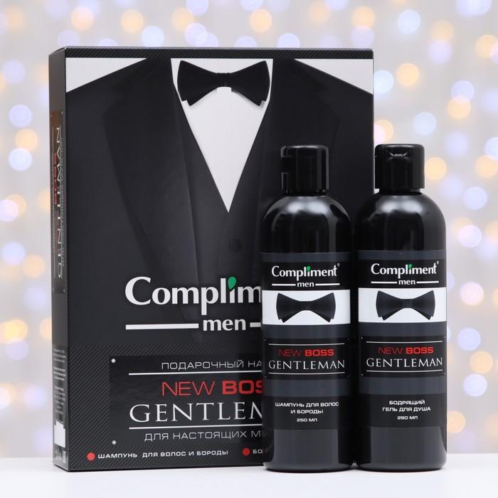 Набор № 1770 Compliment New Boss Gentleman: Шампунь, 250 мл, Гель для душа, 250 мл