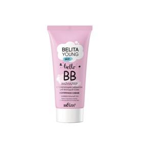 BB-хайлайтер для лица Bielita Young Skin «Безупречное сияние»,