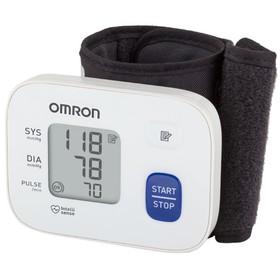 Тонометр на запястье OMRON RS1 HEM-6120-RU, автоматический, манжета 13.5-21.5, 2хААА