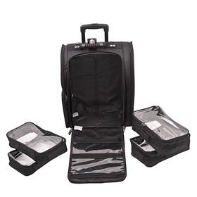 Сумка (чемодан) для визажиста, цвет чёрный LGB915 Ош
