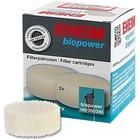 Картридж для фильтра EHEIM AQUABALL BIOPOWER диск/поролон, 2 шт/уп