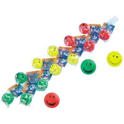 Игрушка NOBBY для собак мяч-смайлик на подвесе, 7 см