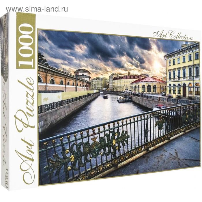Пазл 1000 элементов «Вечерний Санкт-Петербург»