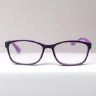Очки корригирующие B 18055, цвет фиолетовый, +2