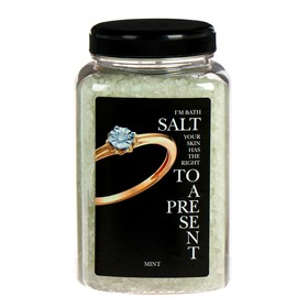 Dr.Aqua Соль морская природная для ванн Мята 0,7кг,ПЭТ/банка