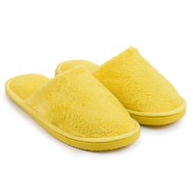 Тапочки женские цвет жёлтый, размер 36-37 (реальный размер 36-37) Ош