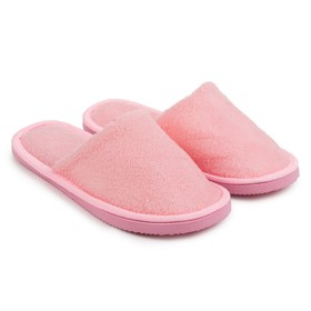 Тапочки женские цвет розовый размер 36-37 Ош