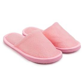 Тапочки женские ONLITOP «Домашние», цвет розовый, размер 38-39 (реальный размер 37) Ош