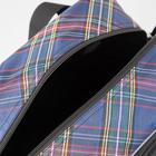 Сумка хозяйственная, отдел на молнии, с увеличением, наружный карман, длинный ремень, цвет чёрный - Фото 4