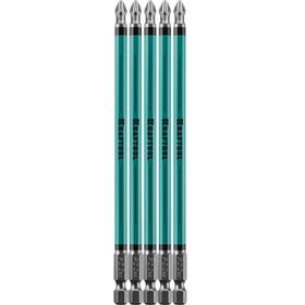 """Биты KRAFTOOL Optimum Line 26122-2-150-5, Е 1/4"""", 150 мм, 5 шт., PH2"""