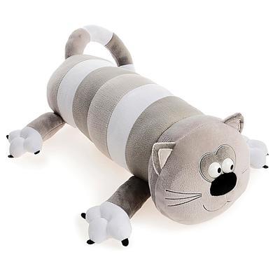 Мягкая игрушка «Кот-Батон», цвет серый, 56 см - Фото 1