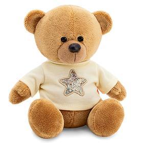 Мягкая игрушка «Медведь Топтыжкин», звезда, цвет коричневый, 17 см