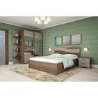Спальня Сорренто 3, набор-тумбы 2шт, кровать 1600 с ПМ, угол, шкаф, Ясень шимо