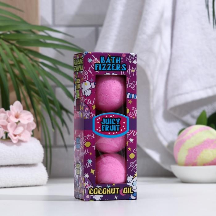 купить Набор бурлящих шаров Spa by Lara Juicy fruti с кокосовым маслом, 40 г3 шт