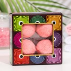 "Набор бурлящих шаров для ванны Spa by Lara ""Роза"", 160 г (40 г*4 шт)"