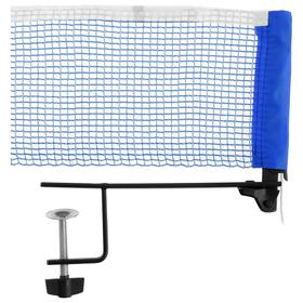Сетка для настольного тенниса SWIFT HIT, 180 х 14 см, с крепежом, цвет синий Ош