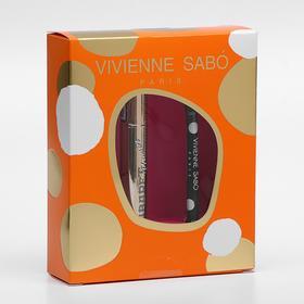 """Подарочный набор Vivienne Sabo (тушь """"Cabaret premiere"""" т. 01"""" + Карандаш для глаз Merci)"""