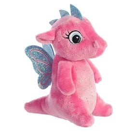 Мягкая игрушка «Дракончик», 16 см, цвет розовый