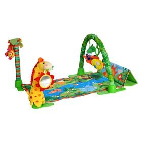 Развивающий коврик Everflo «Райский сад», цвет МИКС