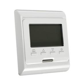 Терморегулятор RTC E 51.716, электронный, 16 А, 3500 Вт, датчик пола и воздуха Ош