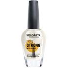 Укрепляющая основа Pro Strong Solomeya для мягких, тонких и слоящихся ногтей, с лимоном, 14 мл