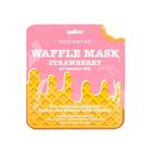 Вафельная маска для лица Kocostar «Клубничный фреш», тонизирующая