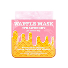 Вафельная маска для лица Kocostar «Клубничный фреш», тонизирующая - Фото 2
