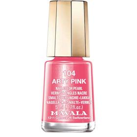 Лак для ногтей Mavala, тон 104 Розовый арт