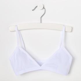 Бюстье для девочки, цвет белый, рост 140-146 см
