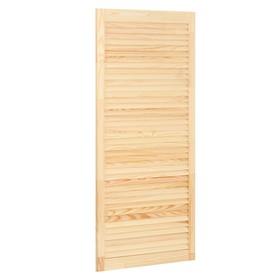 Жалюзийная дверь, 120,5×59,4см Ош