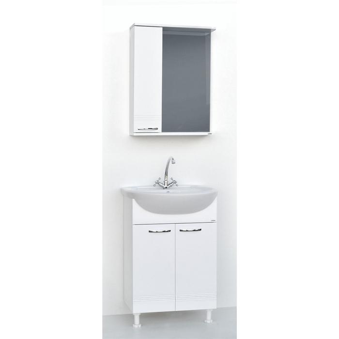 Набор мебели Гармония 55 тумба с раковиной  шкаф-зеркало