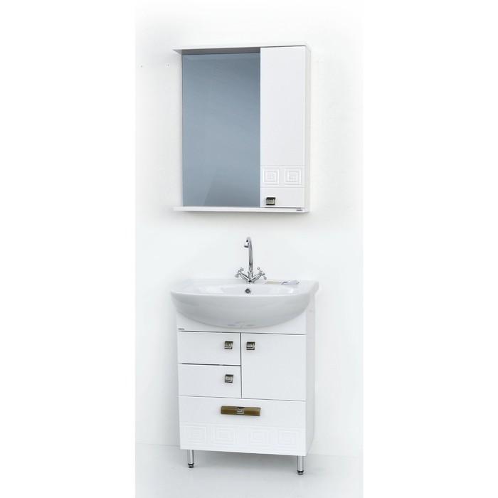 Набор мебели Этно 603 тумба с раковиной  шкаф-зеркало