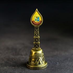 Колокольчик в форме капли «Нижневартовск. Алёша» Ош