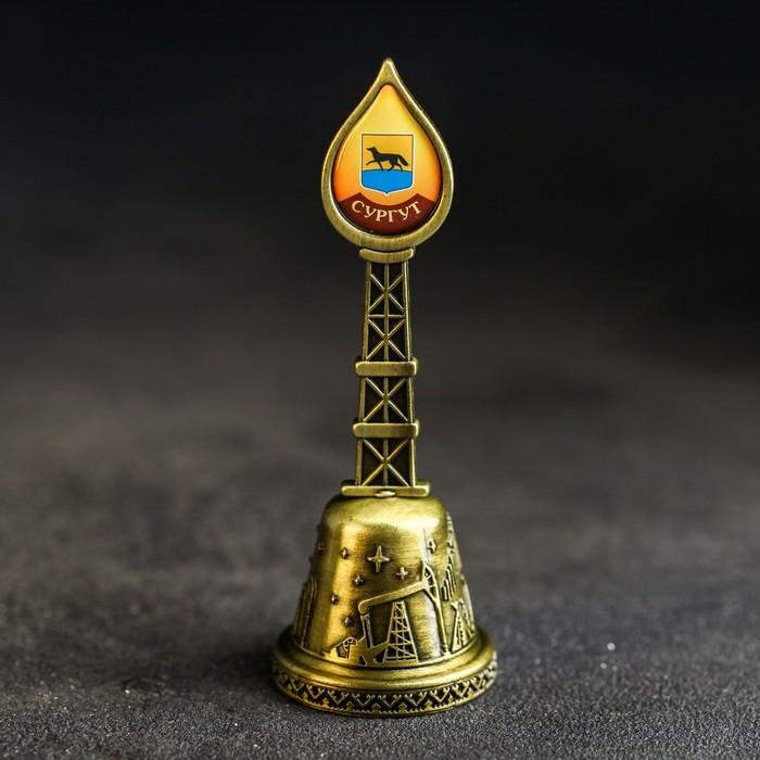 Колокольчик в форме капли Сургут. Памятник основателям