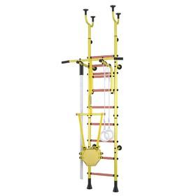 Детский спортивный комплекс Polini Sport Active, комбинированный, цвет желтый