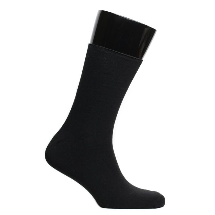 Носки мужские, цвет чёрный, размер 29