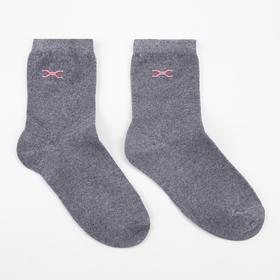 Носки детские, цвет серый, размер 24 Ош