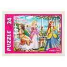 Пазл «Волшебный мир принцесс», 24 элемента, МИКС - Фото 2