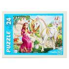 Пазл «Волшебный мир принцесс», 24 элемента, МИКС - Фото 4