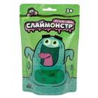 """Игрушки в наборе """"Слаймонстр"""", зелёный + фигурки насекомых, 200 г"""