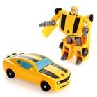 Робот «Автобот», трансформируется, цвета МИКС - Фото 1