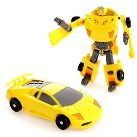 Робот «Автобот», трансформируется, цвета МИКС Ош